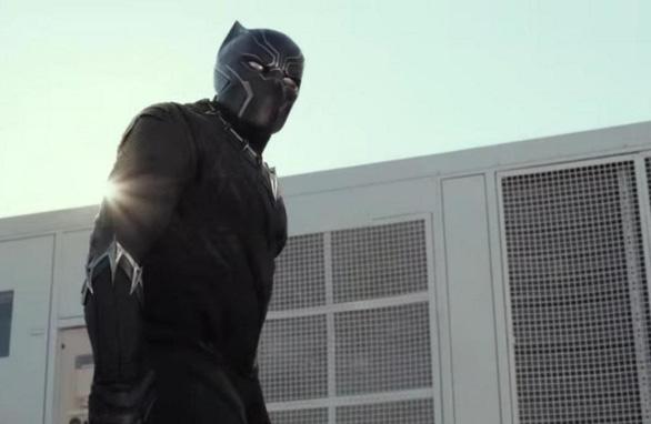 Tạo hình Black Panther của Chadwick Boseman trong Captain America: Civil War - Ảnh: Marvel Studio