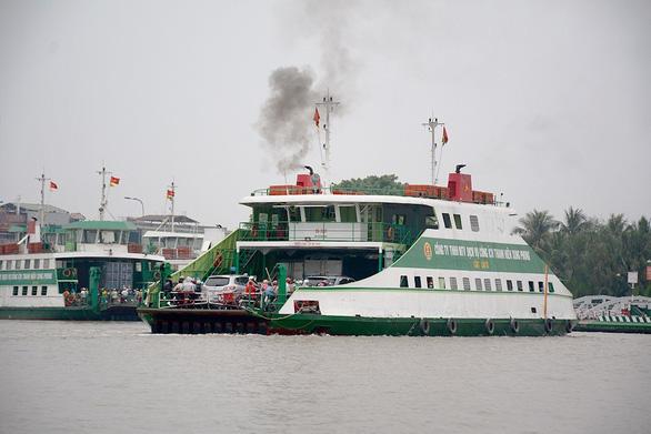 TP.HCM lùi ngày khánh thành phà biển đầu tiên từ Cần Giờ đi Vũng Tàu - Ảnh 1.