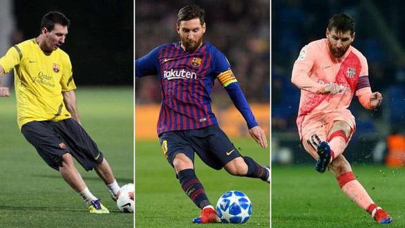 Messi độc chiếm danh hiệu Vua đá phạt hơn Ronaldo 19 bàn trong 9 mùa giải - Ảnh 1.