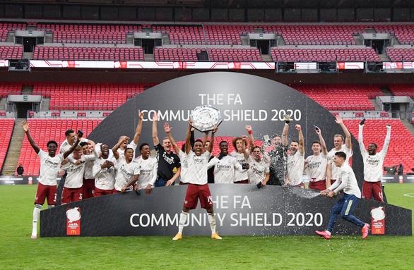 Hạ Liverpool sau loạt 'đấu súng', Arsenal đoạt Siêu cúp Anh 2020 - Ảnh 1.
