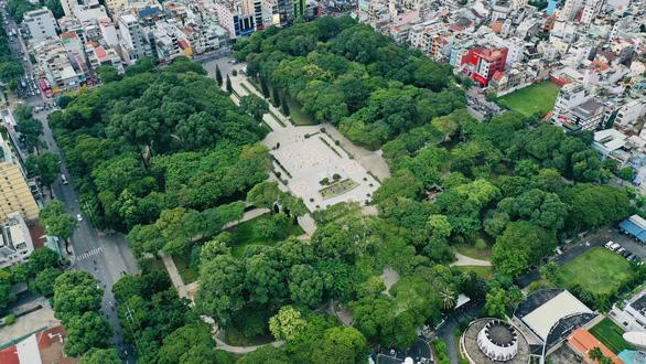 Chấm dứt hợp đồng bãi xe ngầm công viên Lê Văn Tám - Ảnh 1.