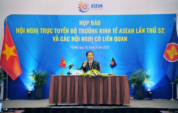 Hội nghị Bộ trưởng Kinh tế ASEAN: Ký Hiệp định RCEP cuối năm nay, nỗ lực để Ấn Độ tham gia - Ảnh 1.