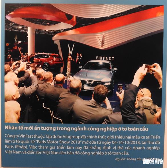 Cuộc chiến chống COVID-19 và Vinfast có mặt ở triển lãm Việt Nam độc lập, tự cường - Ảnh 10.