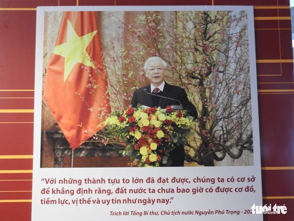 Cuộc chiến chống COVID-19 và Vinfast có mặt ở triển lãm Việt Nam độc lập, tự cường - Ảnh 12.