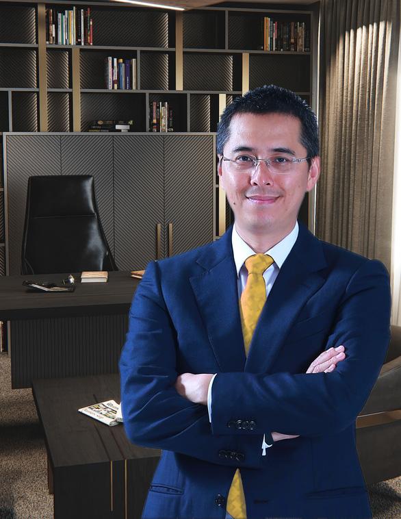 Phó Chủ tịch Techcombank làm Tổng Giám đốc Tập đoàn đa ngành KDI - Ảnh 1.