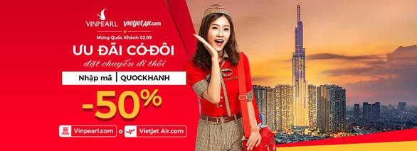 Ưu đãi 50% giá phòng Vinpearl khi bay Vietjet Air - Ảnh 3.