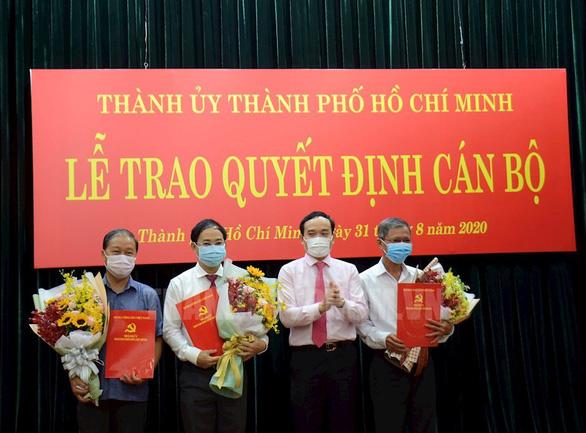 Phó chủ tịch UBND quận 7 làm phó bí thư Huyện ủy huyện Bình Chánh - Ảnh 1.