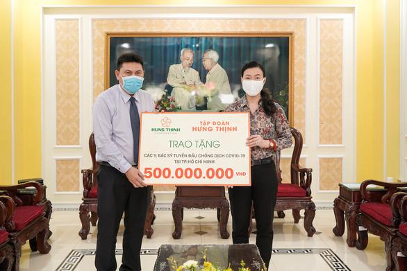 Tập đoàn Hưng Thịnh đã trích 40 tỉ đồng ủng hộ phòng chống dịch COVID-19 - Ảnh 1.