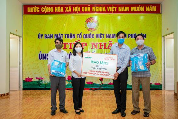 Tập đoàn Hưng Thịnh đã trích 40 tỉ đồng ủng hộ phòng chống dịch COVID-19 - Ảnh 2.