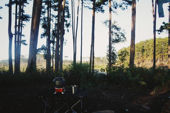 Bình minh mát lạnh như mùa xuân giữa núi rừng Phi Liêng - Ảnh 6.