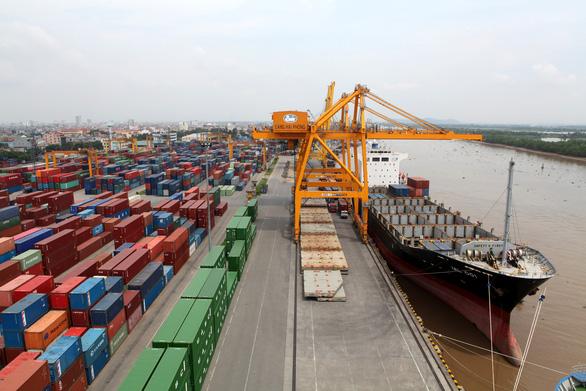 Tăng giá bốc dỡ container để lấy lại tiền hãng tàu thu của chủ hàng quá cao - Ảnh 1.