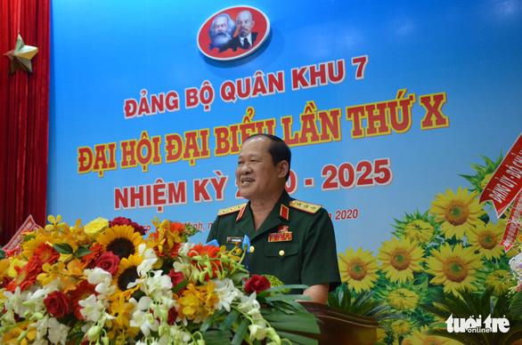 Quân khu 7 khai mạc Đại hội Đảng bộ lần thứ X - Ảnh 1.