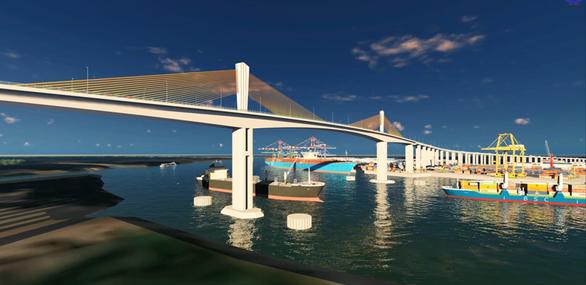 Xây cầu Phước An gần 5.000 tỉ đồng, nối cảng Cái Mép - Thị Vải với cao tốc - Ảnh 5.