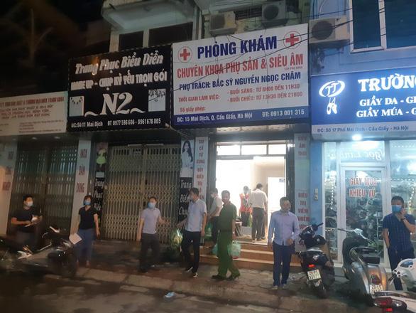 Vụ tử vong tại phòng khám ở Hà Nội: Nghi vấn hành nghề quá phạm vi cho phép - Ảnh 1.