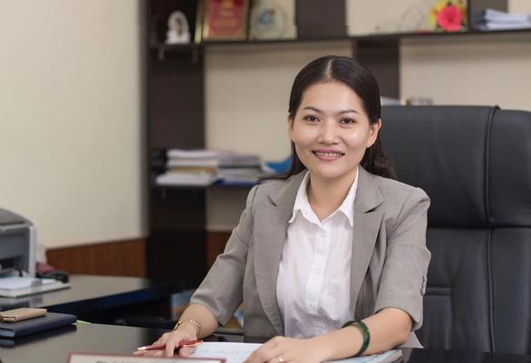 Bình Dương bổ nhiệm nữ hiệu trưởng 39 tuổi của Đại học Thủ Dầu Một - Ảnh 1.