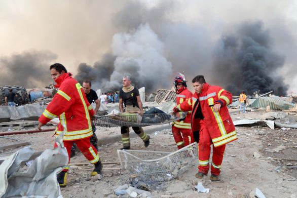 Một người Việt Nam bị thương trong vụ nổ kinh hoàng ở Lebanon - Ảnh 1.