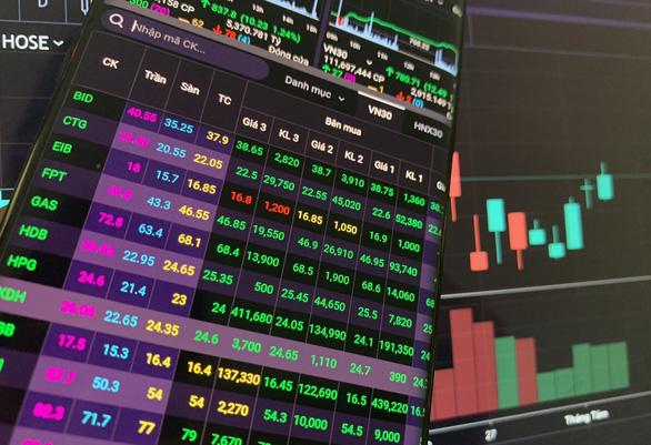 Dòng tiền đổ vào mua cổ phiếu tăng mạnh hàng ngàn tỉ đồng - Ảnh 1.