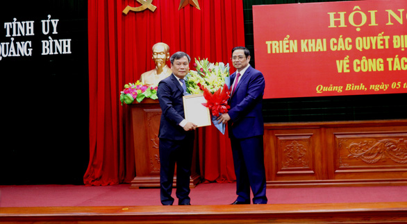 Bí thư Quảng Bình làm phó Ban Tổ chức trung ương - Ảnh 1.