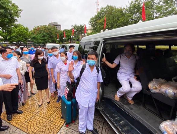 Đà Nẵng gọi, y bác sĩ Hải Phòng sớm trả lời, lên đường vào tâm dịch - Ảnh 2.
