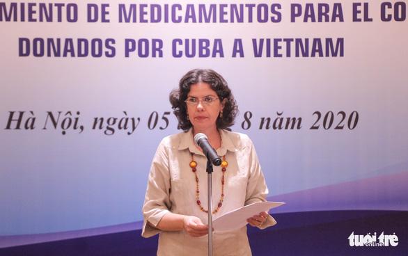 Cuba tặng thuốc, cử chuyên gia sang Việt Nam hỗ trợ chống dịch COVID-19 - Ảnh 3.