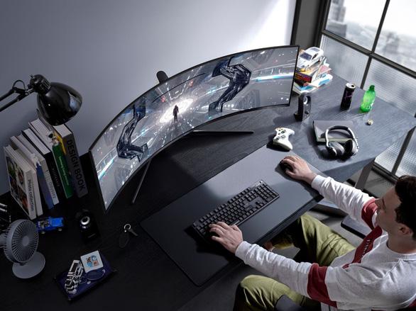 Màn hình Odyssey từ tương lai: Samsung mê hoặc game thủ - Ảnh 1.