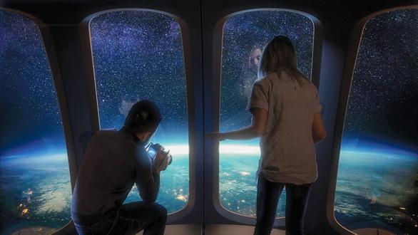 Gần 3 tỉ đồng cho chuyến du hành ngắm vũ trụ 360 độ - Ảnh 3.