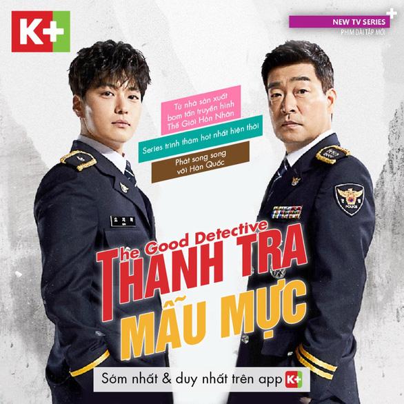 Phim The Good Detective chính thức phát sóng trên App K+ - Ảnh 1.