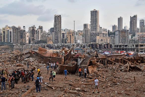 Toàn cảnh vụ nổ ở Lebanon: Vì sao có đám mây hình nấm như bom nguyên tử? - Ảnh 3.