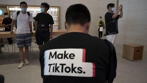 Ông Trump nói bên mua TikTok chịu lại quả lớn cho Bộ Tài chính Mỹ - Ảnh 1.