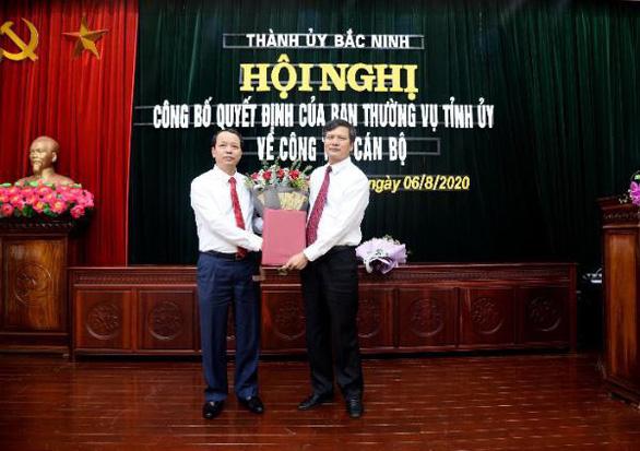 Tân bí thư Thành ủy Bắc Ninh được điều về làm phó giám đốc sở - Ảnh 2.