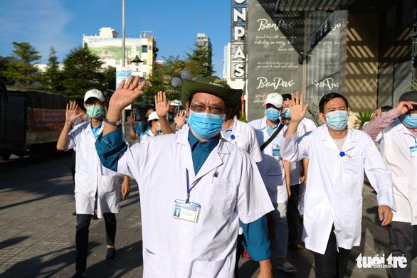 Đoàn y bác sĩ Bình Định đã đến Đà Nẵng sẵn sàng chi viện - Ảnh 3.