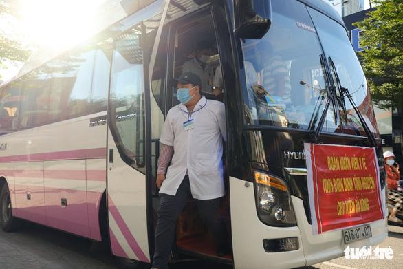 Đoàn y bác sĩ Bình Định đã đến Đà Nẵng sẵn sàng chi viện - Ảnh 2.