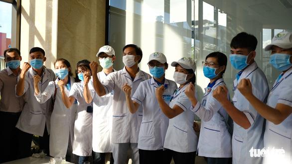 Đoàn y bác sĩ Bình Định đã đến Đà Nẵng sẵn sàng chi viện - Ảnh 1.