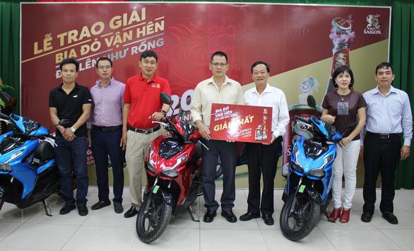 Những con số ấn tượng từ chương trình tri ân của Bia Saigon Export - Ảnh 1.