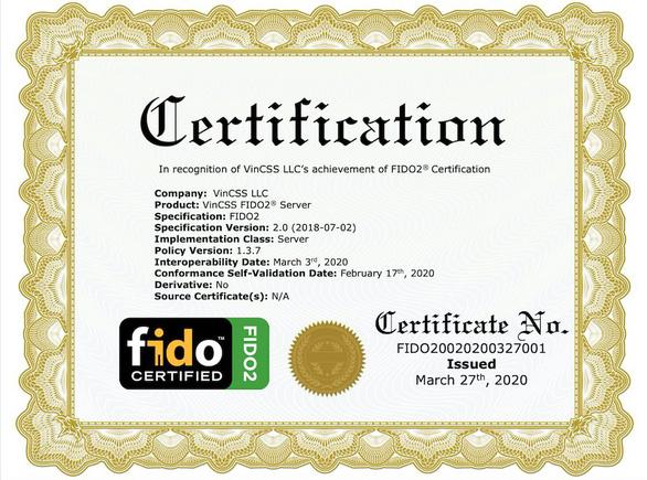 Vingroup đạt chuẩn FIDO2 thứ hai cho sản phẩm máy chủ xác thực mạnh - Ảnh 1.