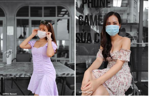 Chùm ảnh: Người Sài Gòn nâng cao ý thức đeo khẩu trang phòng dịch - Ảnh 1.