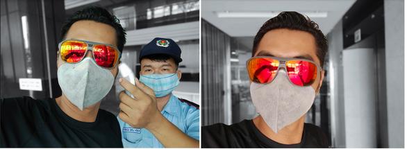 Chùm ảnh: Người Sài Gòn nâng cao ý thức đeo khẩu trang phòng dịch - Ảnh 5.