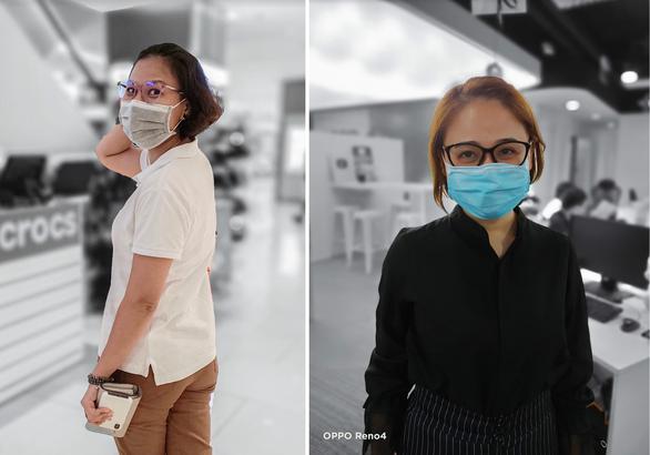 Chùm ảnh: Người Sài Gòn nâng cao ý thức đeo khẩu trang phòng dịch - Ảnh 7.
