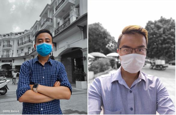 Chùm ảnh: Người Sài Gòn nâng cao ý thức đeo khẩu trang phòng dịch - Ảnh 8.