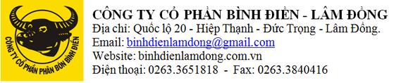 Công ty Cổ phần Bình  Điền - Lâm Đồng thông báo tuyển dụng - Ảnh 2.