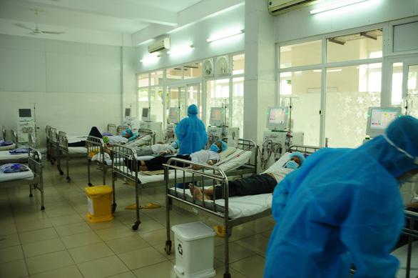 Bệnh viện C17 Quân khu 5 bắt đầu nhận bệnh từ các bệnh viện khác - Ảnh 1.