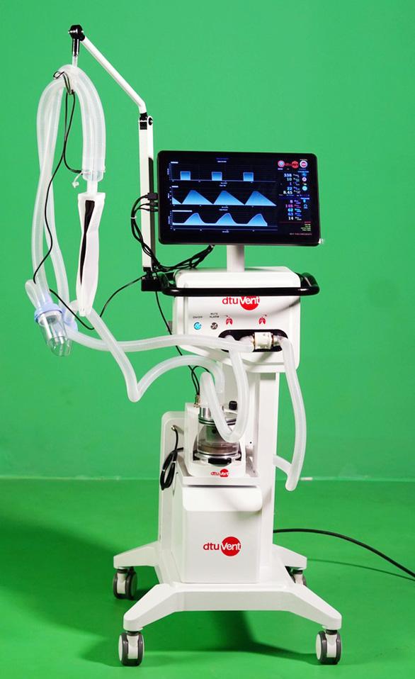 Máy thở dtu-VENT Ver3.0 của ĐH Duy Tân đảm bảo điều trị COVID-19 - Ảnh 1.
