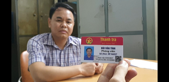 Thách thức CSGT khi vi phạm, tài xế công ty lộ ra thẻ nhà báo dỏm - Ảnh 1.