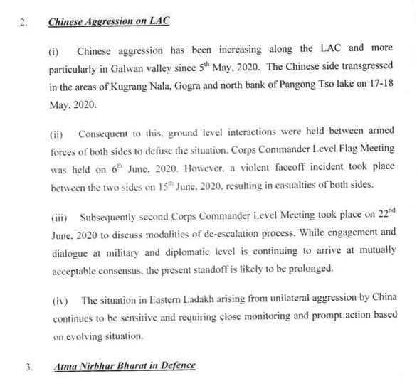Bộ Quốc phòng Ấn Độ xóa tài liệu thừa nhận quân Trung Quốc xâm phạm lãnh thổ - Ảnh 2.