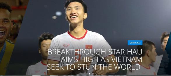 Trả lời phỏng vấn FIFA, Văn Hậu tự tin: Việt Nam sẽ gây bất ngờ lớn hơn nữa - Ảnh 1.