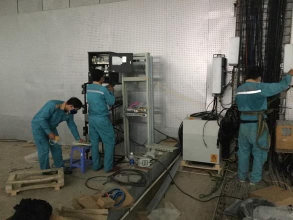 Viettel hoàn thành phủ sóng 4G tại bệnh viện dã chiến Đà Nẵng - Ảnh 1.