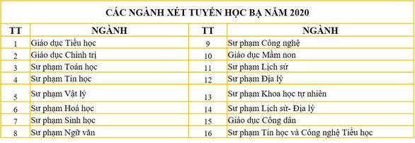 ĐH Sư phạm Đà Nẵng bắt đầu nhận xét tuyển học bạ các ngành đào tạo giáo viên - Ảnh 1.