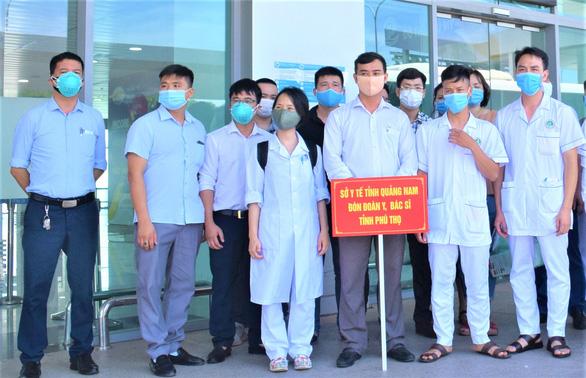 38 y bác sĩ Phú Thọ chia lửa với Quảng Nam: đoàn kết, quyết tâm chống dịch - Ảnh 1.