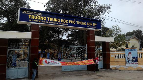 352 thí sinh của một trường học tại Quảng Ngãi phải dừng thi vì COVID-19 - Ảnh 3.