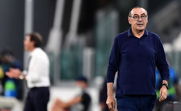 Bị loại ở Champions League, Juventus sa thải Sarri - Ảnh 1.